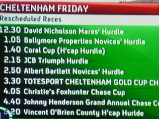cheltenham gold cup runners and riders